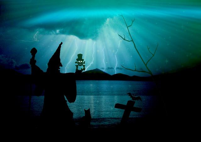 Letteratura fantastica: un paesaggio di ombre sinistre.